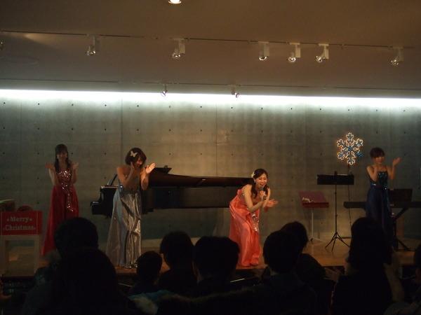 クリスマスコンサート@兵庫県立美術館
