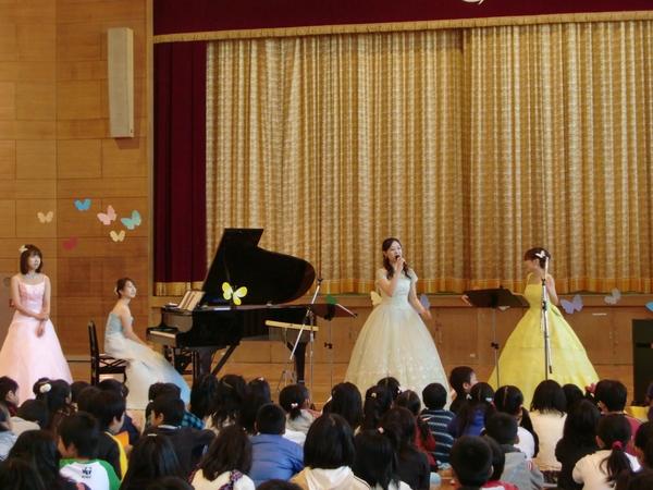神戸市立筑紫が丘小学校 ふれあいコンサート