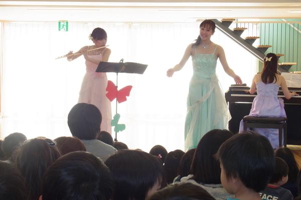 保育園コンサート♪