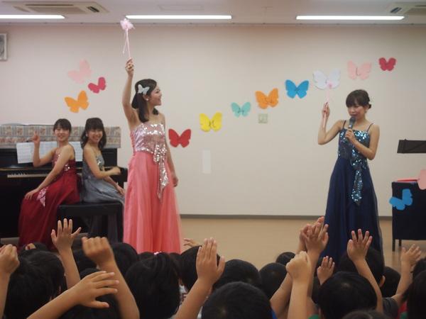 YMCA保育園にて♪(2012.9.27)